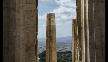 Athens, also the old ruins